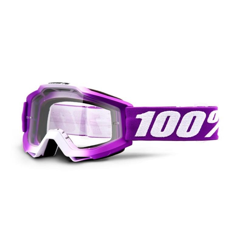 100% Accuri Goggles Framboise   Clear Lens