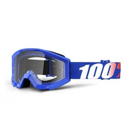 100% Strata Junior Goggles Nation   Clear Lens