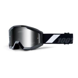 100% Strata Junior Goggles Goliath   Silver Mirror Lens