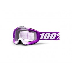100% Accuri Youth Goggles Framboise   Clear Lens