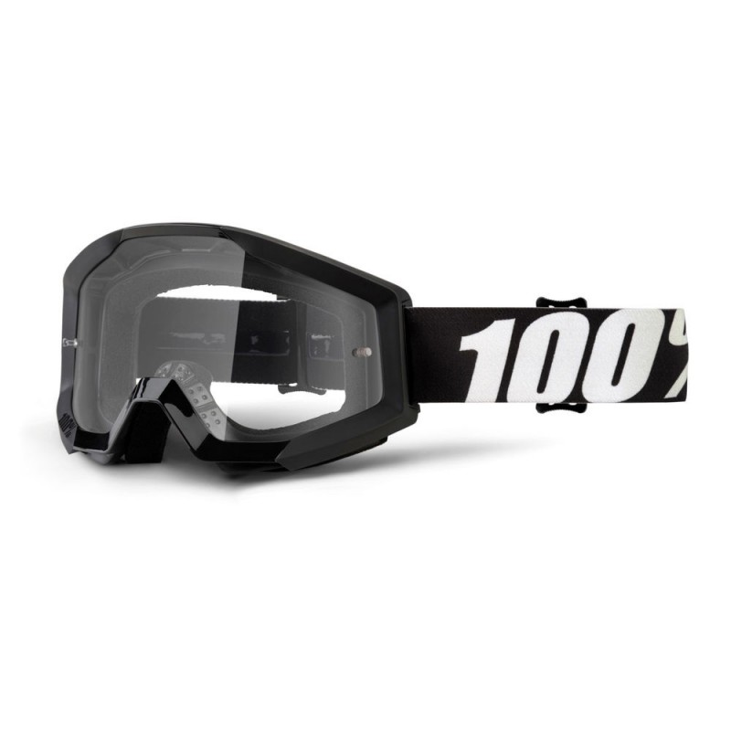 100% Strata Goggles Outlaw   Clear Lens