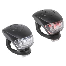 M-WAVE Cobra IV battery flashing light set