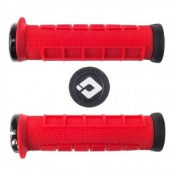 Elite Pro Lock-On Grips Red