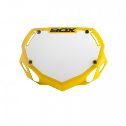 BOX Two Mini Number Plate Yellow
