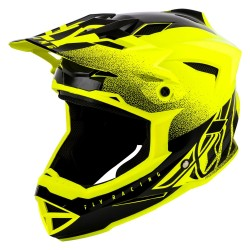 Fly 2019 Bike Default MTB Adult Helmet (Dither Hi-Viz Yellow)