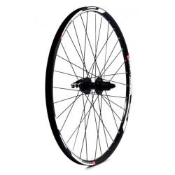 KX MTB 27.5  650B Doublewall Q R Cassette Wheel Rim Brake in Black (Rear)