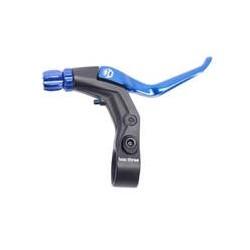Box Three Long Reach Brake Lever Blue