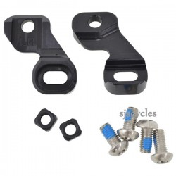 Hope Tech SRAM Shifter Clamp - Pair Black
