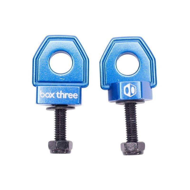 Box Three BMX Chain Tensioner Blue 10mm