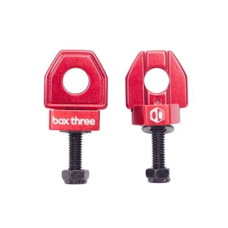 Box Three BMX Chain Tensioner Red 10mm