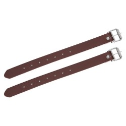Oxford Leather Basket Straps (Pair)