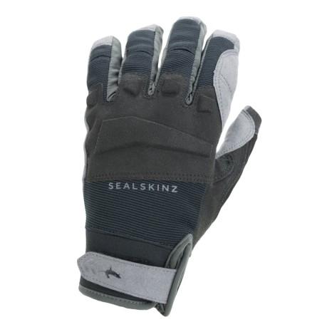 Sealskins Waterproof All Weather MTB Glove Black Grey