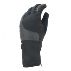 Sealskins Cold Weather Reflective Cycle Glove Black