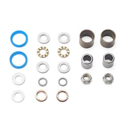 HT Pedal Rebuild Kit, T-1 2017 on Pedals (Blue seals) - Includes, bearings, washers, end nuts, Orings