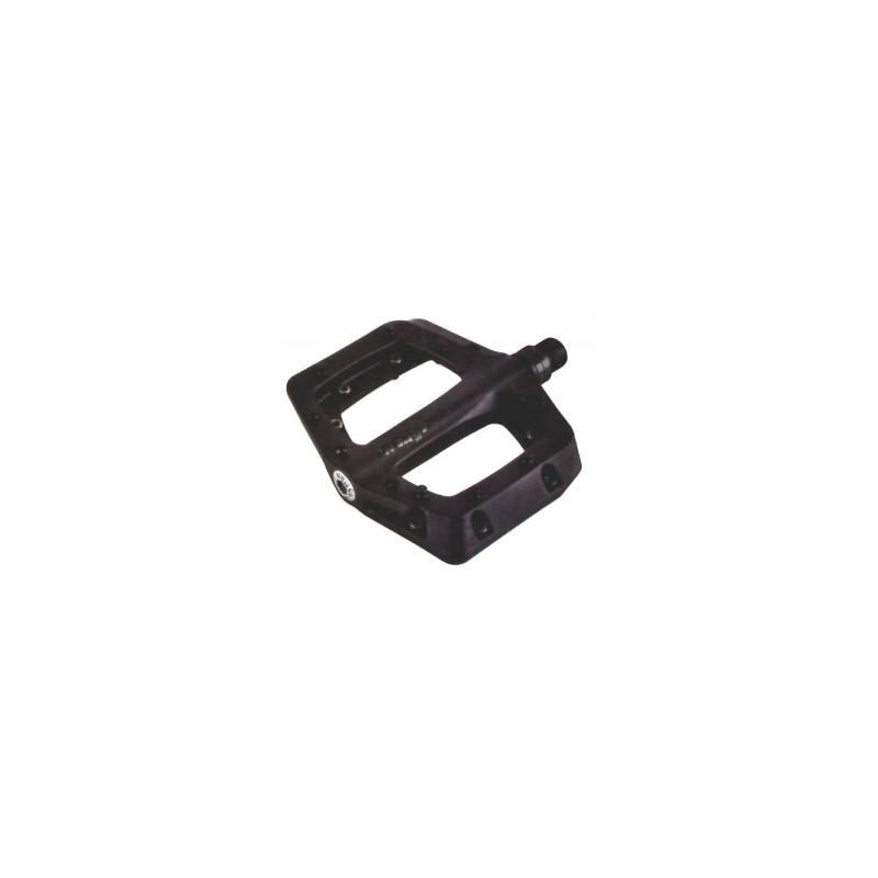 Wellgo B311 Plastic Body Sealed Platform Pedal in Black