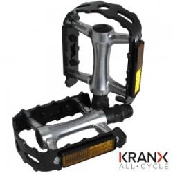 KranX AllTrek Polymer Bearing Alloy Pedals 9/16