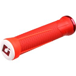 Odi AG1 MTB Lock On Grips 135mm - Red / Red