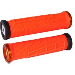 Odi Elite Flow MTB Lock On Grips 130mm - Orange