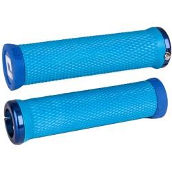 Odi Elite Motion MTB Lock On Grips 130mm - Blue