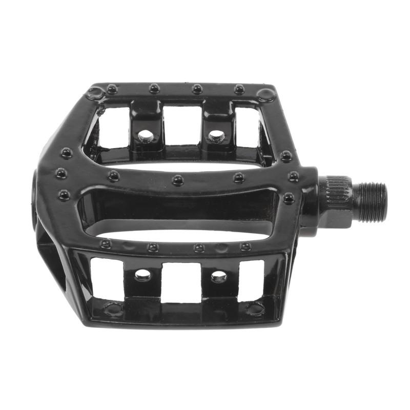 Aluminum 87x94 flat pedal Black