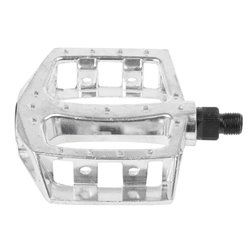 Aluminum 87x94 flat pedal Silver