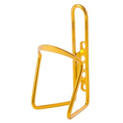 Aluminum C bottle cage Gold