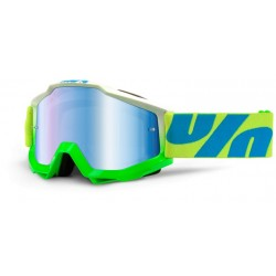 100% Accuri Goggles Barracuda Mirror Blue Lens