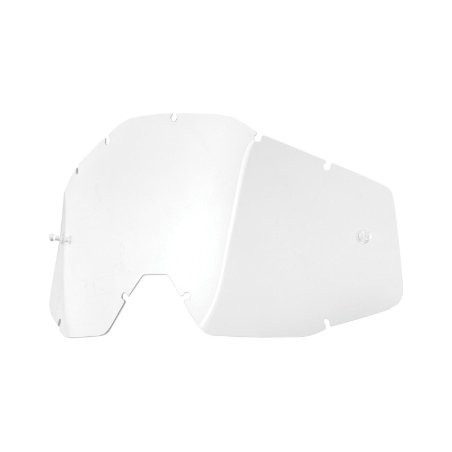 100% Racecraft/Accuri Replacement Lens Clear