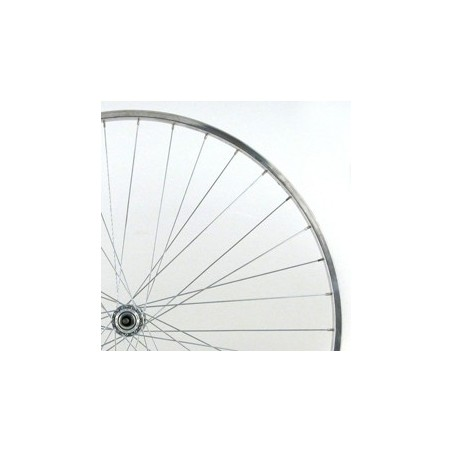 700c Alloy Rear Wheel Hybrid with Solid Axle