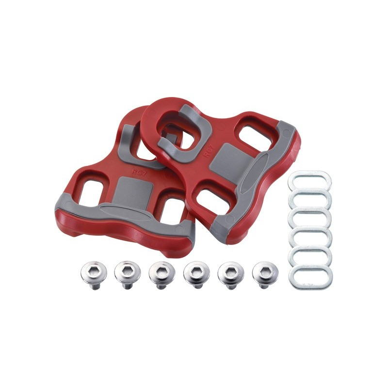 Acor Look Keo Compatible Floating Pedal Cleats: 9 Degree