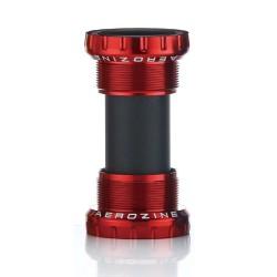 Aerozine MTB/Road Bottom Bracket Ceramic Bearings Red