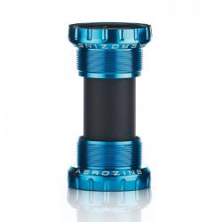 Aerozine MTB/Road Bottom Bracket Steel Bearings Blue