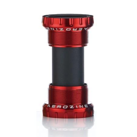 Aerozine MTB/Road Bottom Bracket Steel Bearings Red