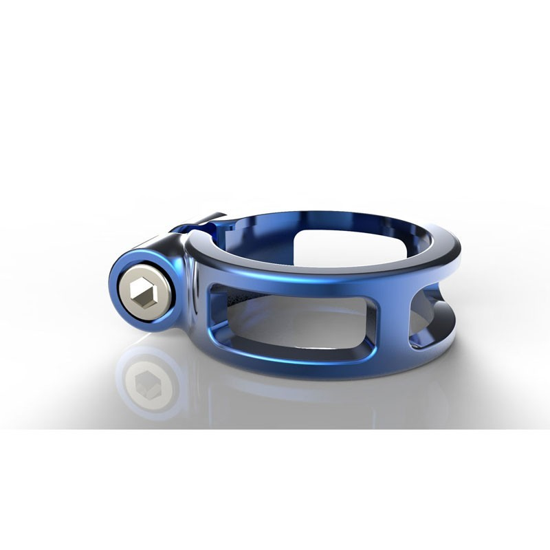 BOX Helix fixed seat clamp 31.8 blue
