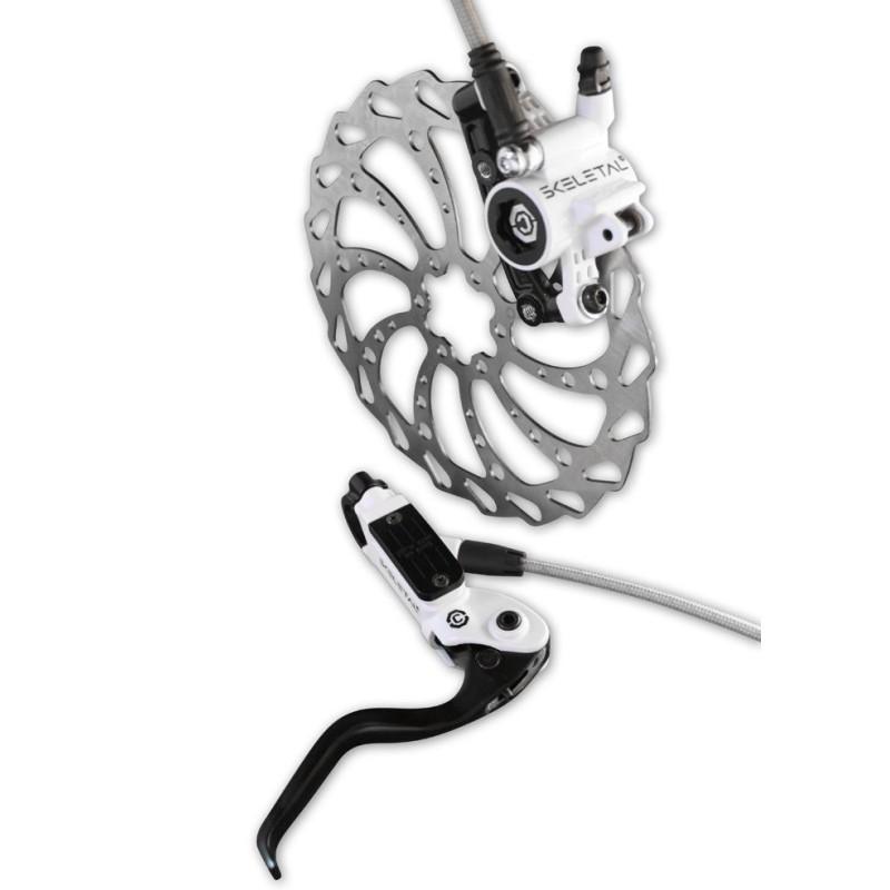 Clarks SX Hydraulic Disc Brake White  185 Disc