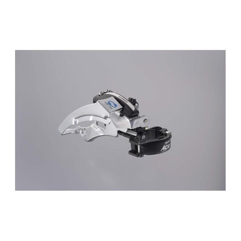 FD-M360 Acera front derailleur, dual-pull, multi-fit, top swing