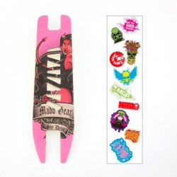 Madd Gear MGP She Devil Extreme Grip Tape with Stickers Pink