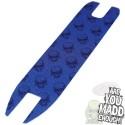 Madd Mgp Skulls Logo Grip Tape Blue