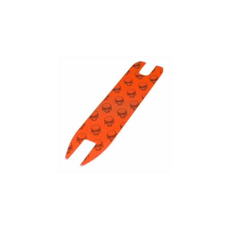 Madd Mgp Skulls Logo Grip Tape Orange