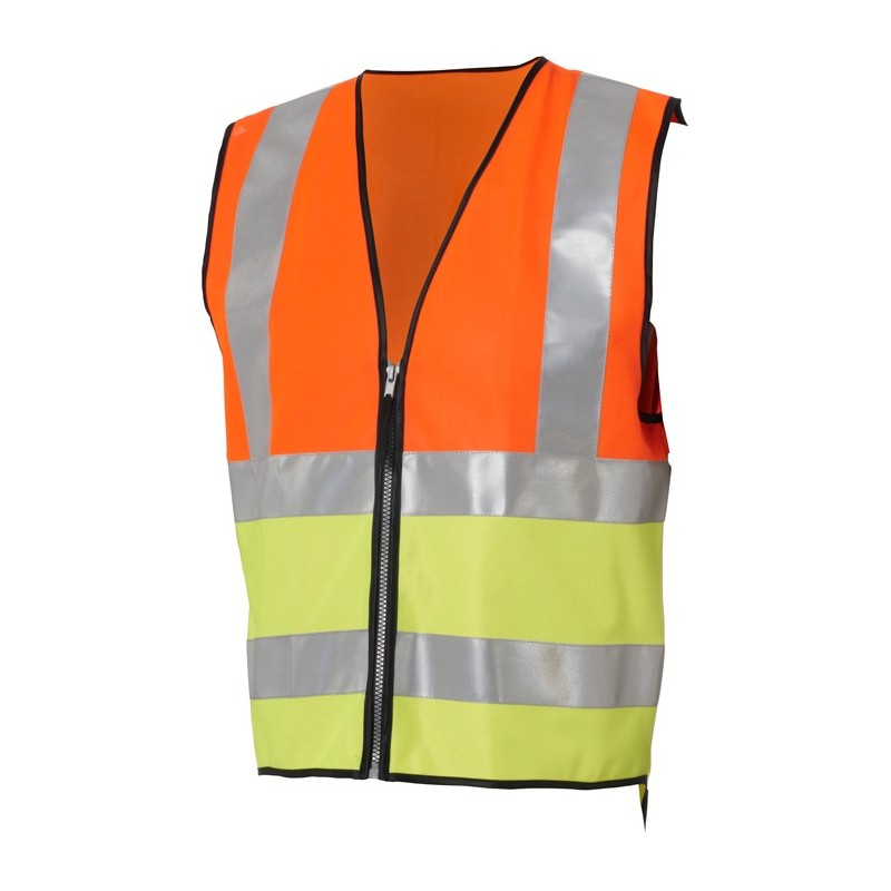 Madison Hi-viz reflective vest conforms to EN471 standard - kids