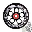 MGP AERO SKULL WHEEL 100mm inc BEARINGS - BLACK