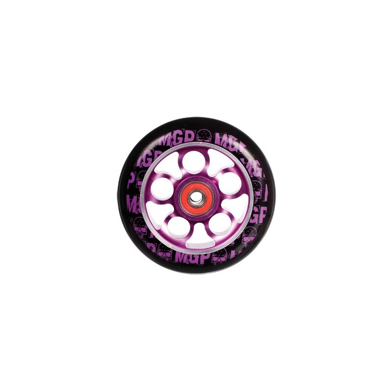MGP AERO SKULL WHEEL 100mm inc BEARINGS - PURPLE
