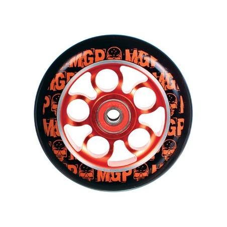 MGP AERO SKULL WHEEL 100mm inc BEARINGS - RED