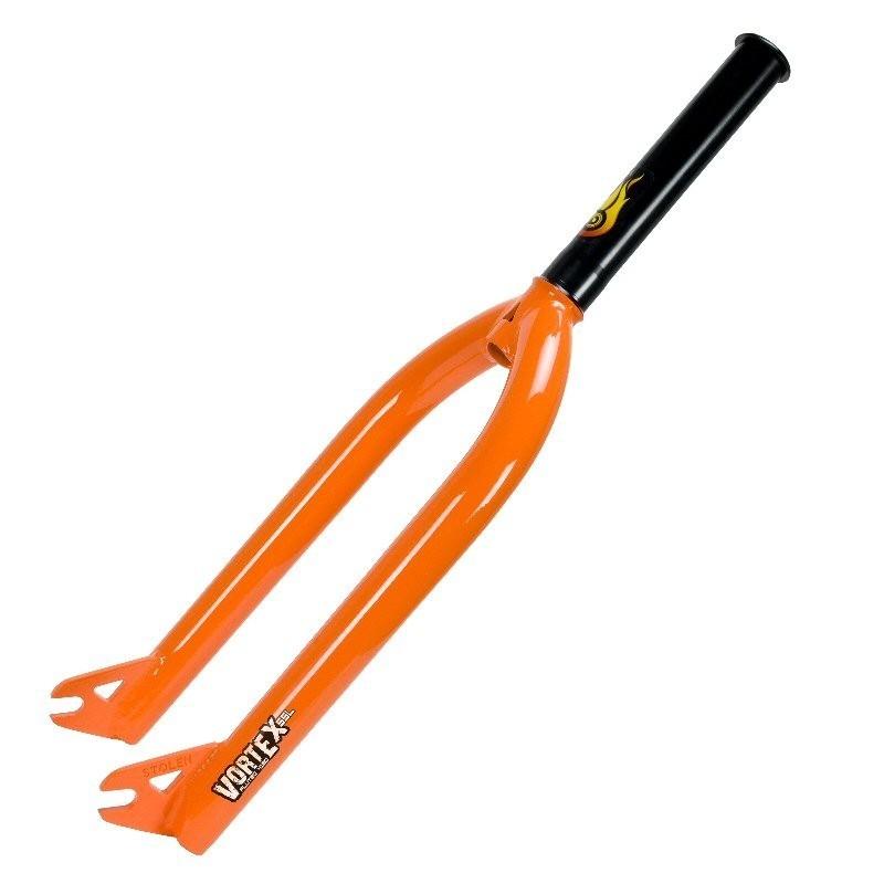 Stolen Vortex SSL Forks 10mm Neon Orange