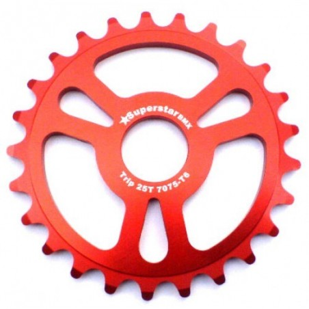 Super S* trip thick sprocket 23t Red