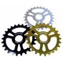 Super S* trip thick sprocket 25t Black