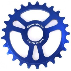 Super S* trip thick sprocket 25t blue