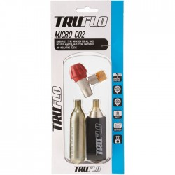Truflo Micro CO2 pump - including 2 x 16 g cartridges