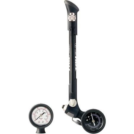 Truflo Single Shot air fork / shock pump