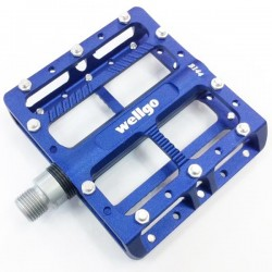 Wellgo - B144 Blue Pedals